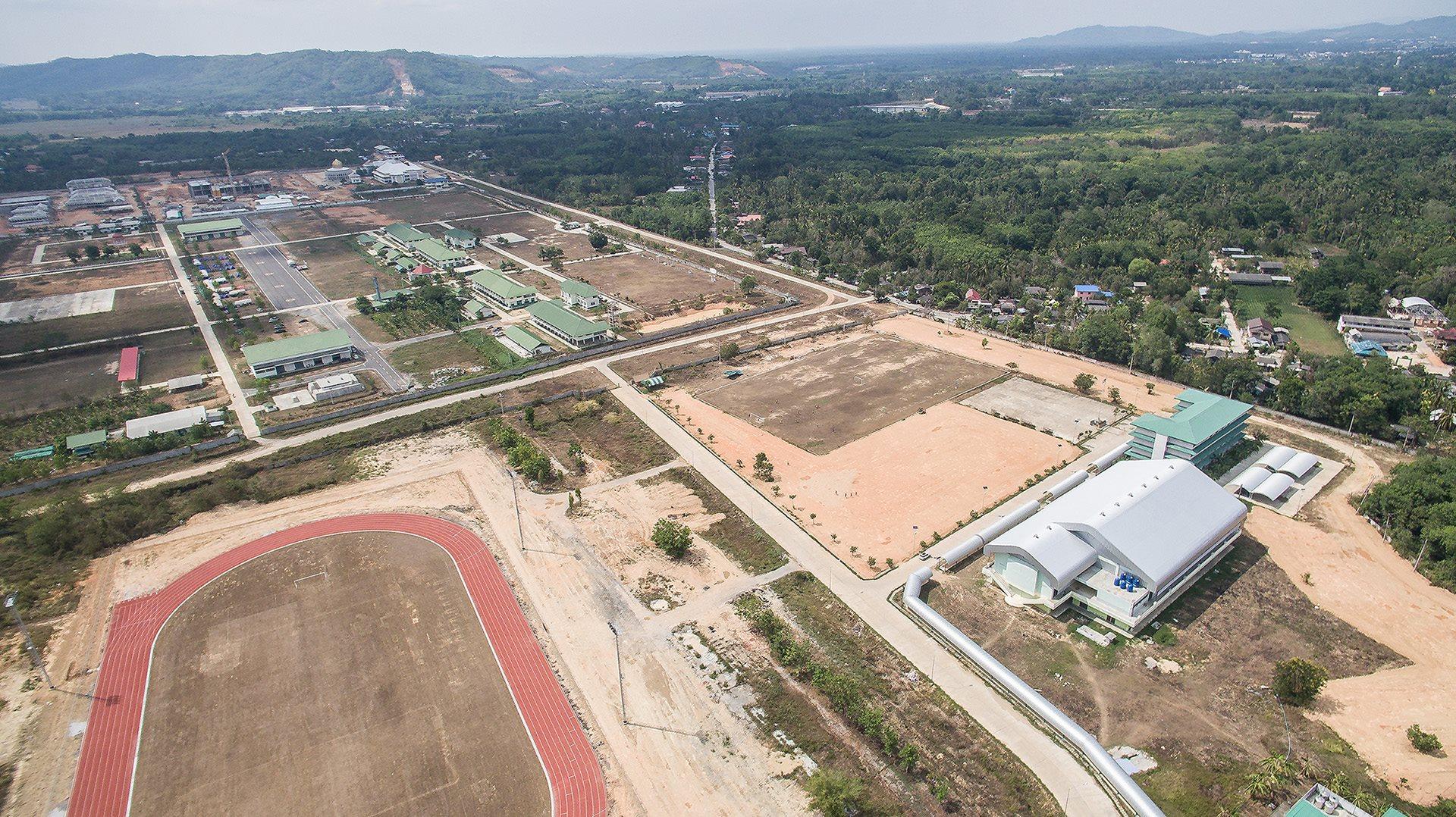 โครงการก่อสร้าง หอพักนักเรียน โรงเรียนกีฬา จังหวัดยะลา