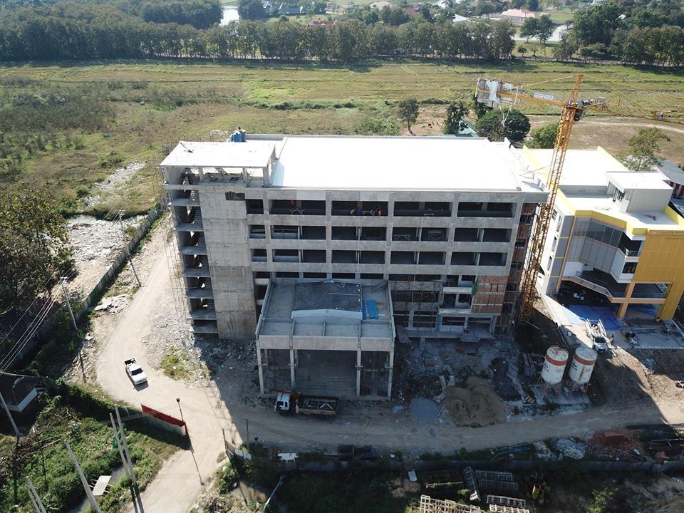 โครงการก่อสร้างอาคารรังสีรักษา