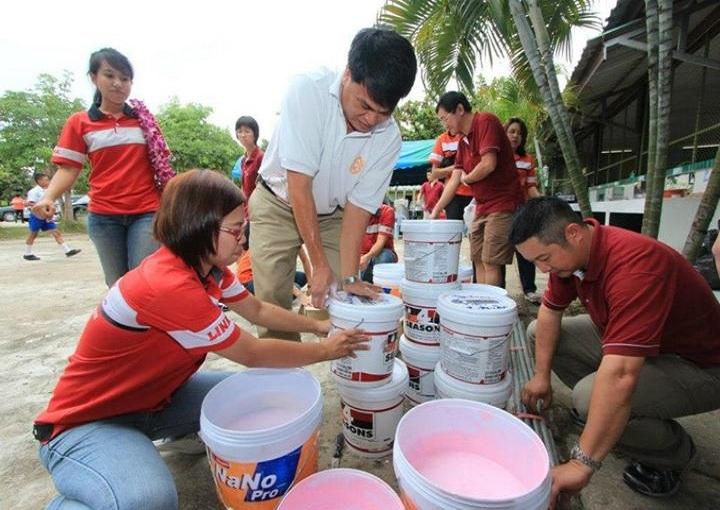 กิจกรรมบริจาคสิ่งของ และบำเพ็ญประโยชน์ โรงเรียนในถิ่นทุรกันดาร  ร่วมกับ บ.Tanglin ประเทศสิงคโปร์