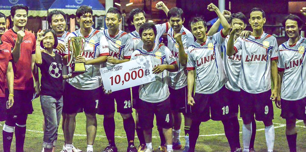 คว้าแชมป์ฟุตซอล รายการ Cotto Futsal Cup ครั้งที่ 1