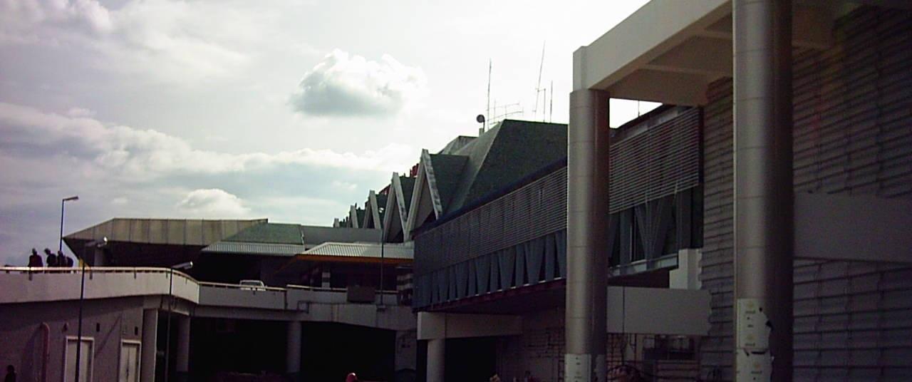 อาคารผู้โดยสารขาออกท่าอากาศยานนานาชาติ จ.ภูเก็ต