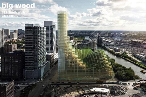 ผลวิจัยชี้ สร้างอาคารด้วยไม้ ลดการปล่อย CO2 มากกว่าคอนกรีตและเหล็ก