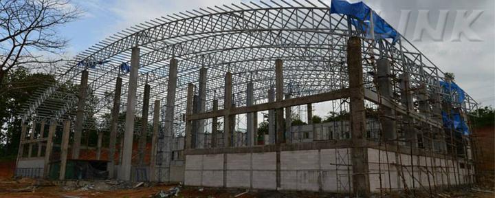 โครงการก่อสร้าง อาคารกีฬาในร่ม มหาวิทยาลัยราชภัฏกำแพงเพชร วิทยาเขตแม่สอด