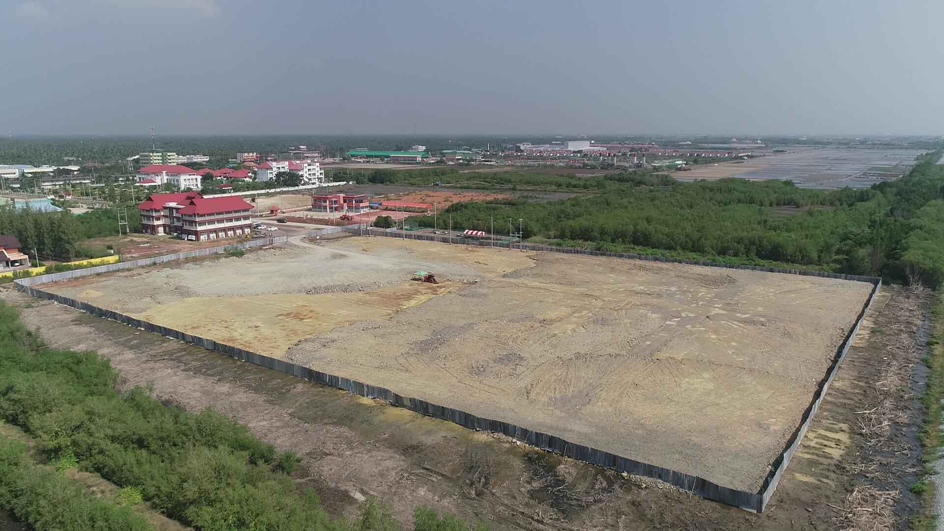 โครการก่อสร้างอาคารที่ทำงานศาลแรงงานภาค